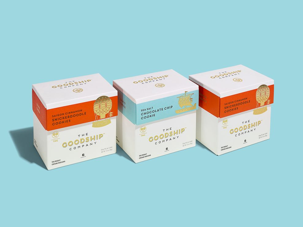 The Goodship Company Clean Package Design