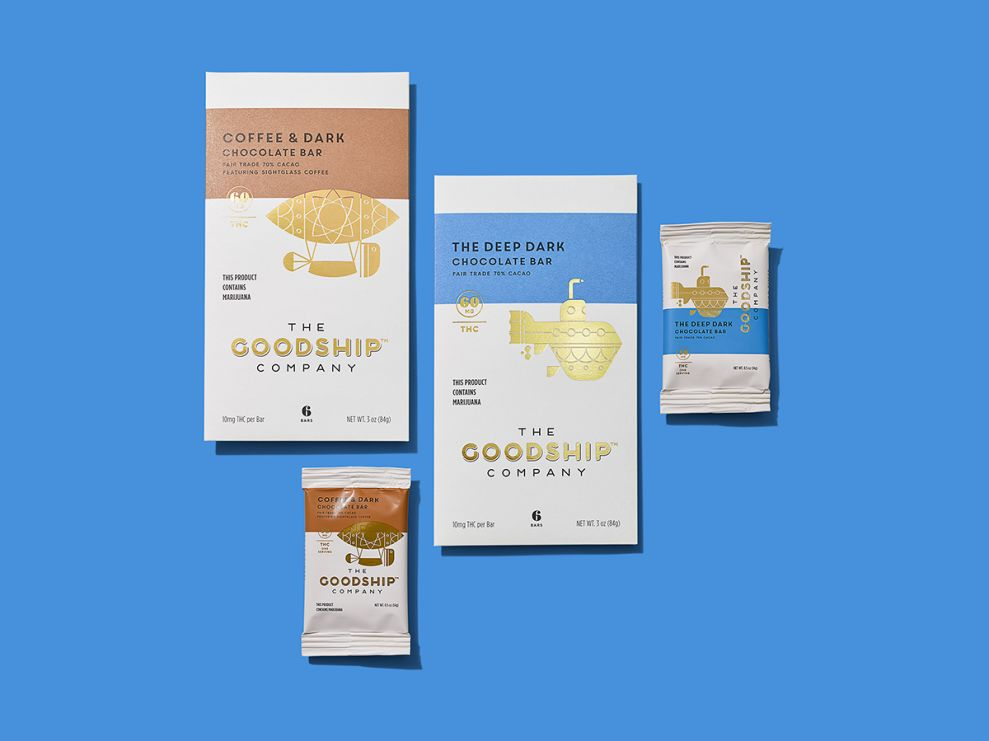 The Goodship Company Package Design