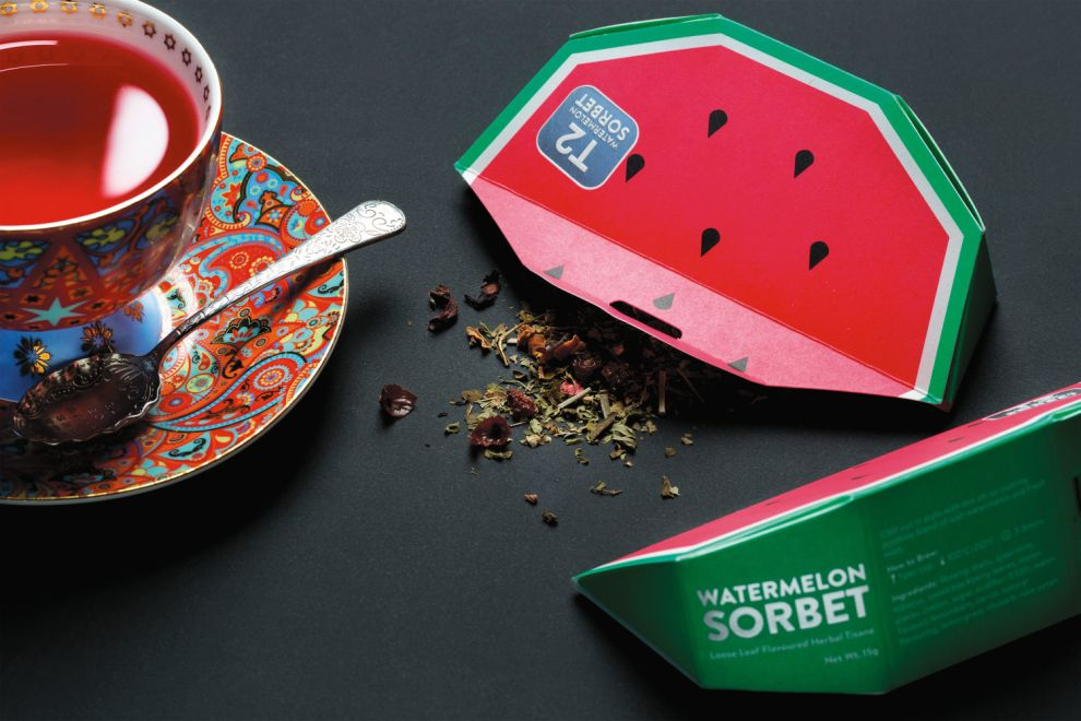 T2 Tea Mini Fruits Creative Package Design