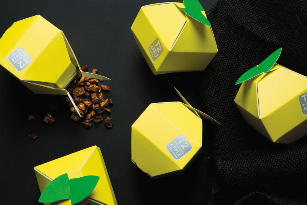 T2 Tea Mini Fruits Package Design
