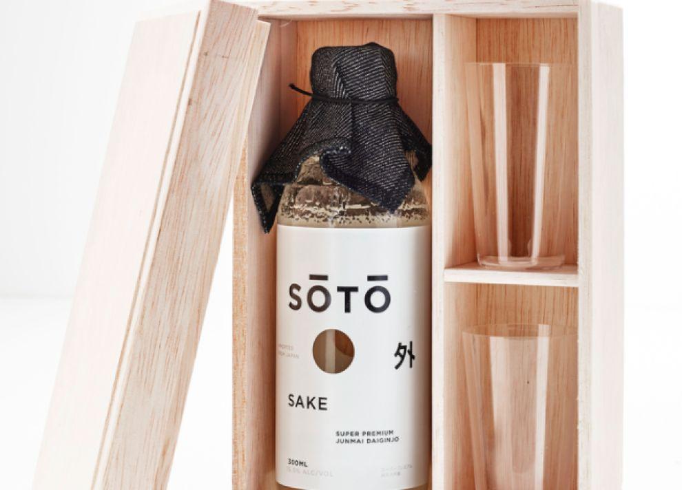 Soto Sake Awesome Package Design