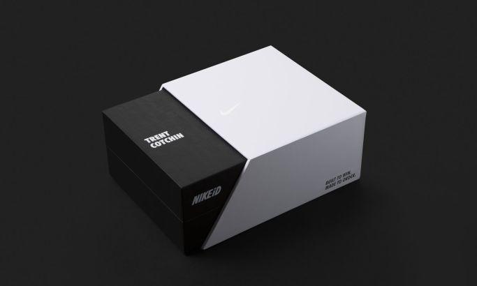 NikeID Athlete's Box Sleek Package Design
