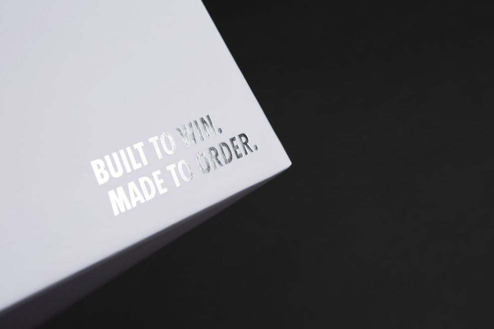 NikeID Athlete's Box Package Design