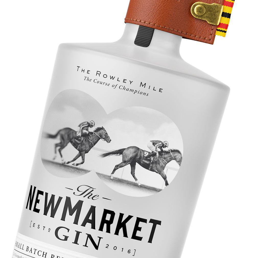 Newmarket Gin Vintage Package Design