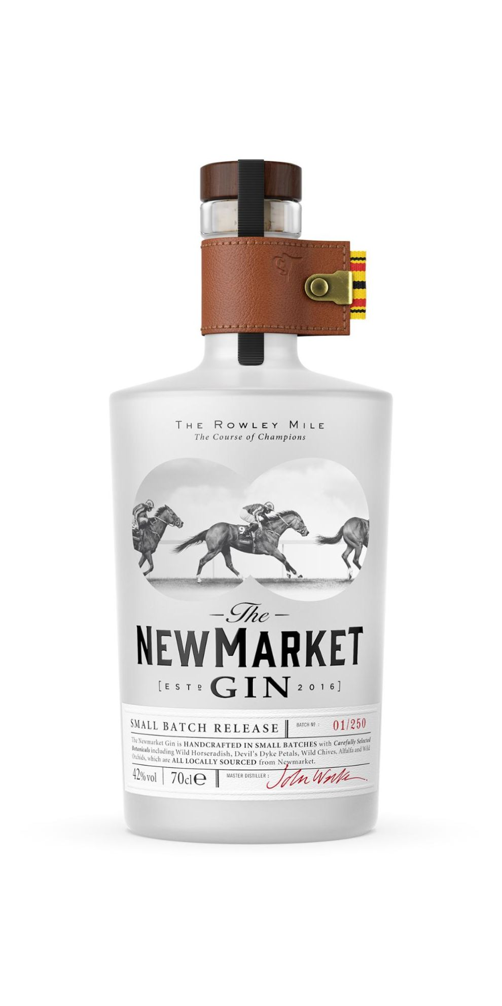 Newmarket Gin Package Design