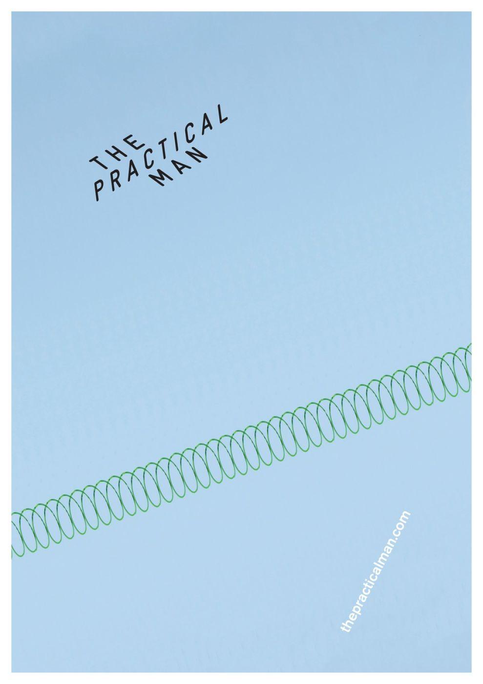 The Practical Man Print Design