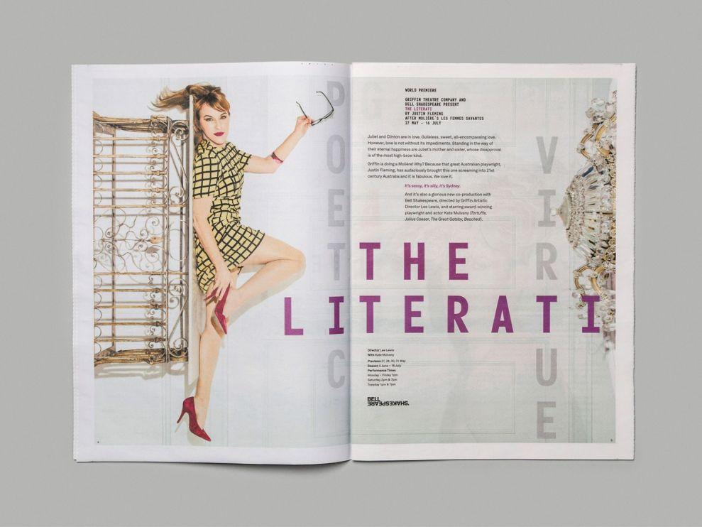 Griffin Season 2016 Brochure Clean Print Design