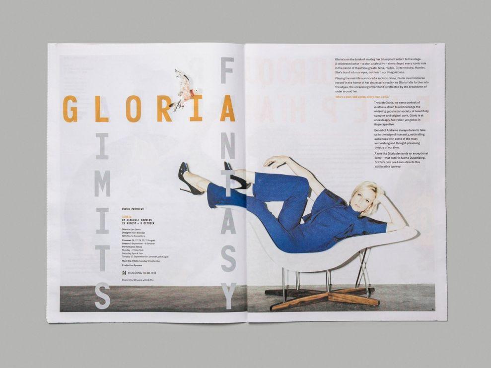 Griffin Season 2016 Brochure Awesome Print Design