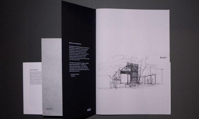 Brook St Brochure Clean Print Design
