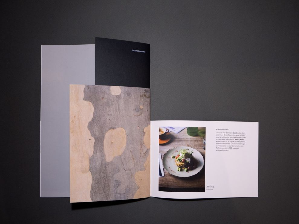 Brook St Brochure Elegant Print Design