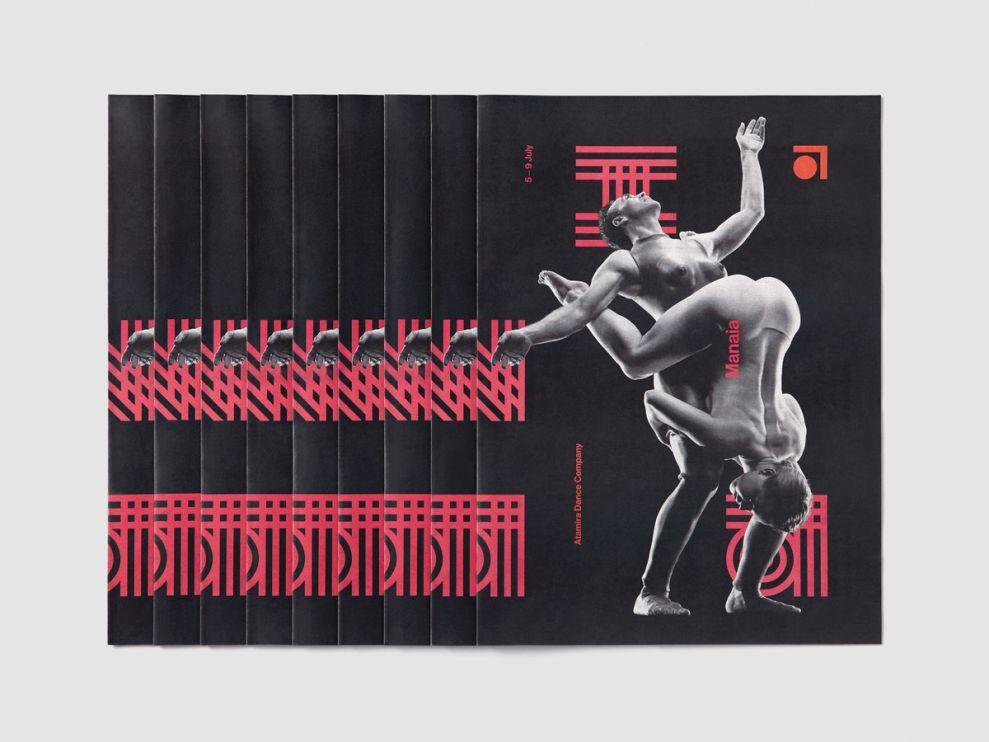 Atamira Dance Company Print Design
