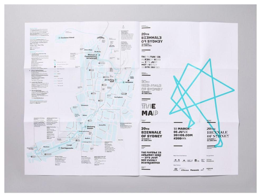 20th Biennale of Sydney Contemporary Print Design