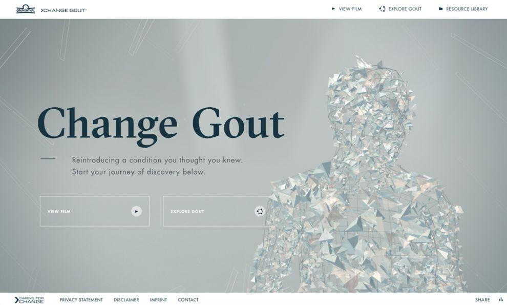 Change Gout Elegant Homepage