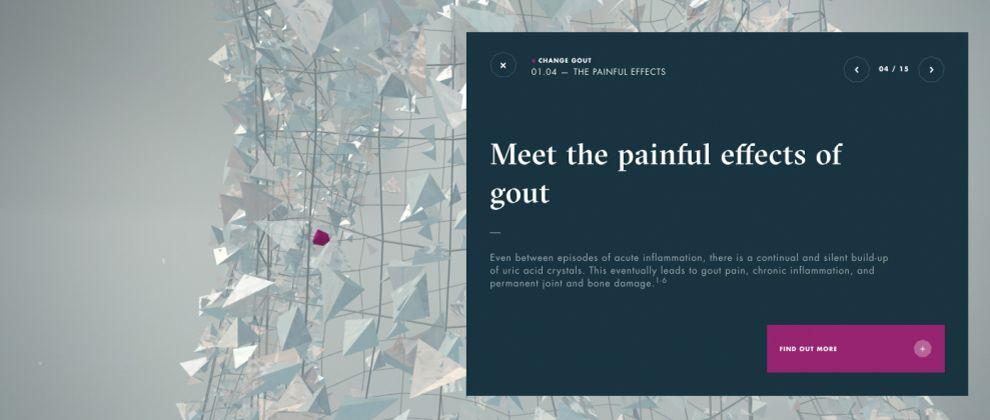 Change Gout Interactive Menu