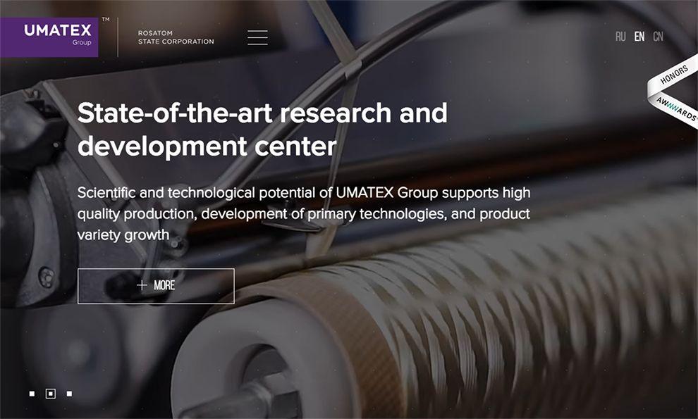 UMATEX Group Amazing Homepage