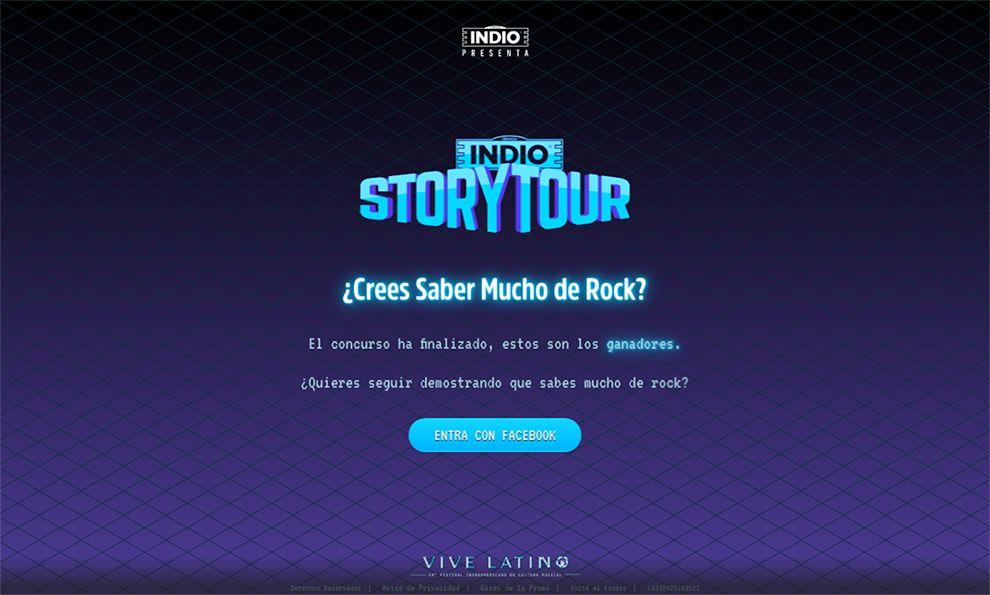 Indio Amazing Homepage