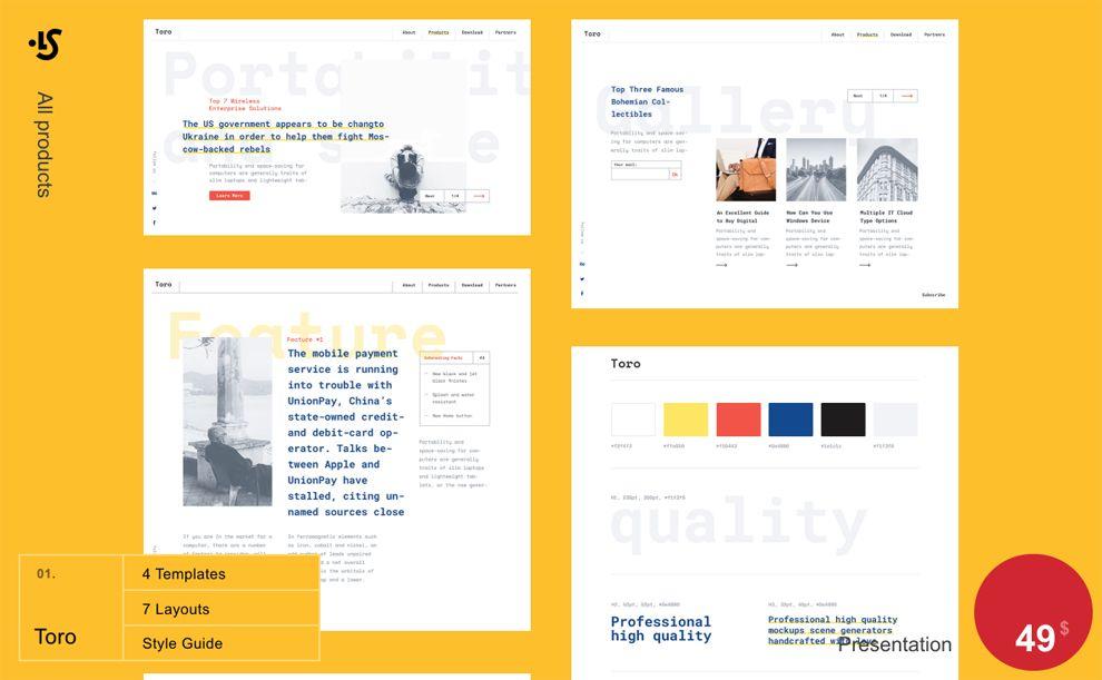 Library Creative Website Design
