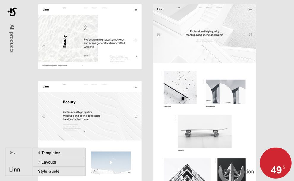 Library Creative Product Page