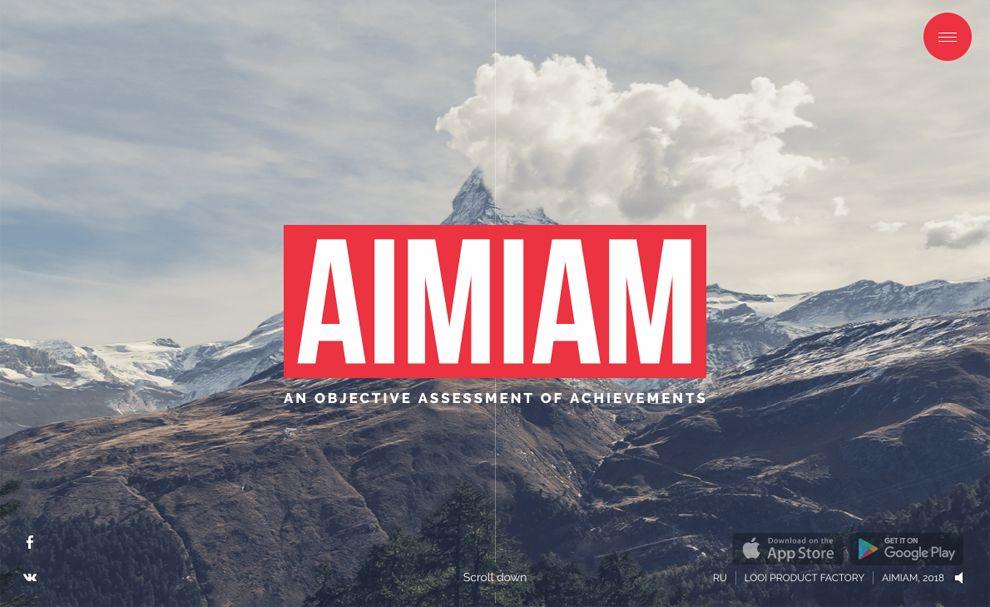 AIMIAM Great Homepage