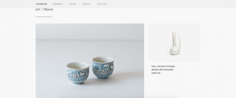 Jam Factory Elegant Product Page