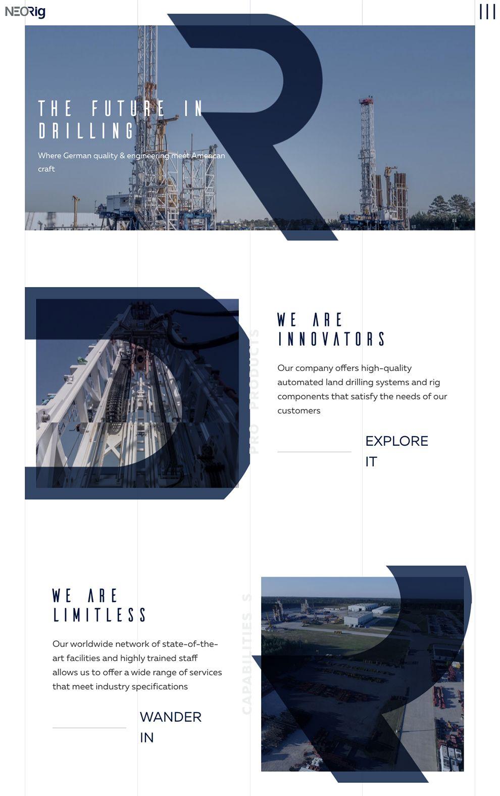 NeoRig Great Homepage