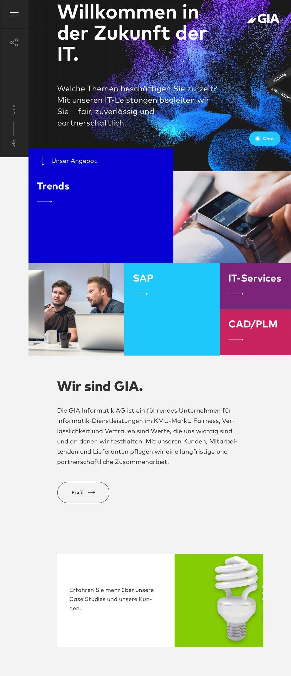 Gia Professional Homepage