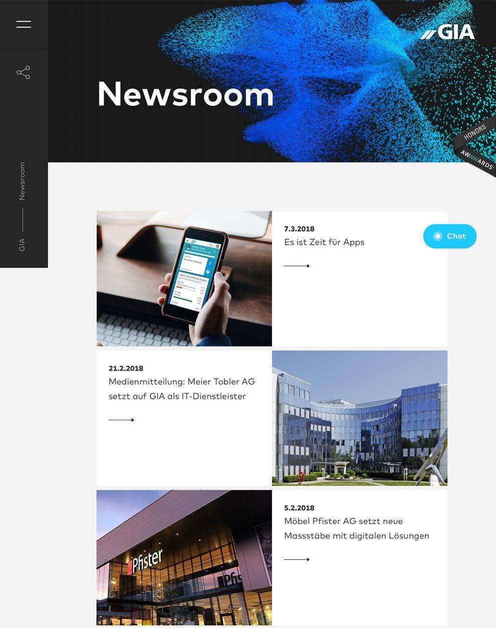 Gia Professional News Page