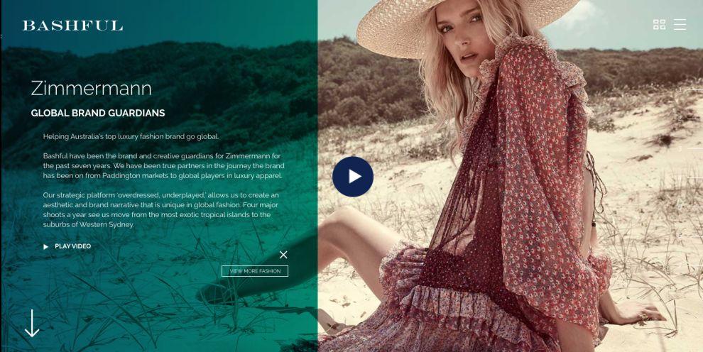 Bashful Creative Agency Beautiful Website Design