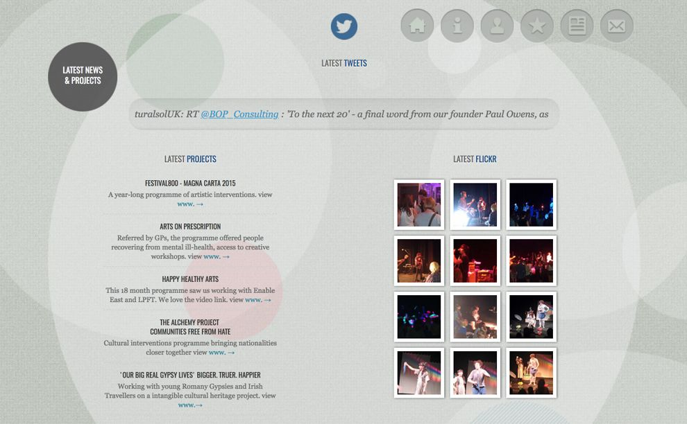 Cultural Solutions Elegant Website Design