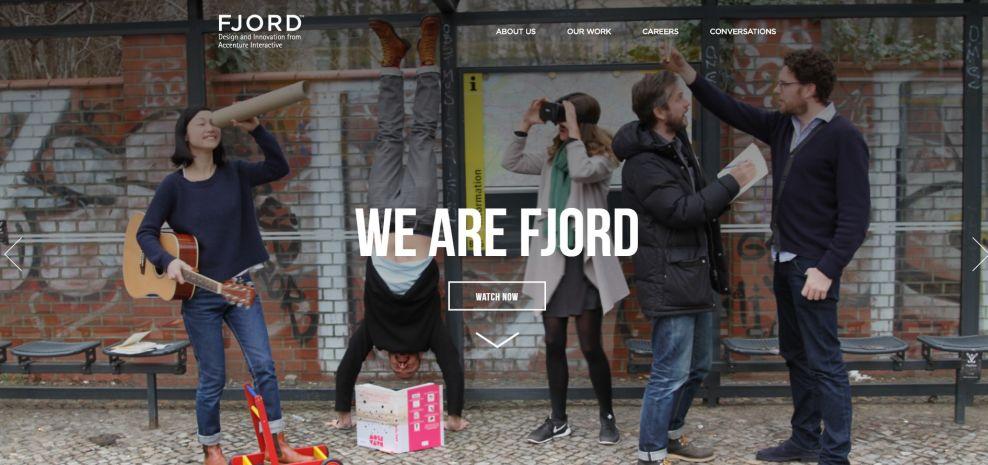 Fjord Net Clean Website Design