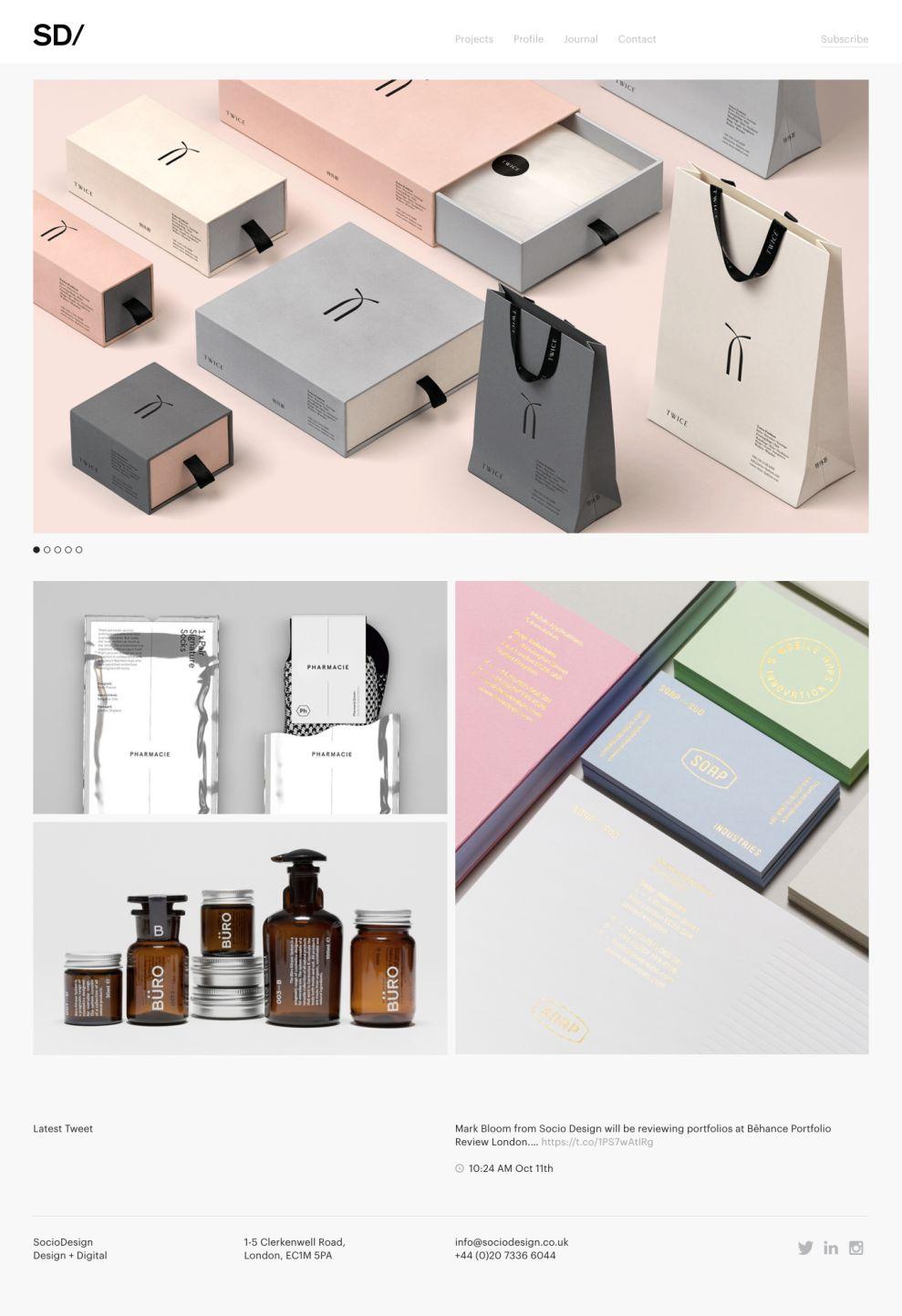 Socio Design Elegant Homepage