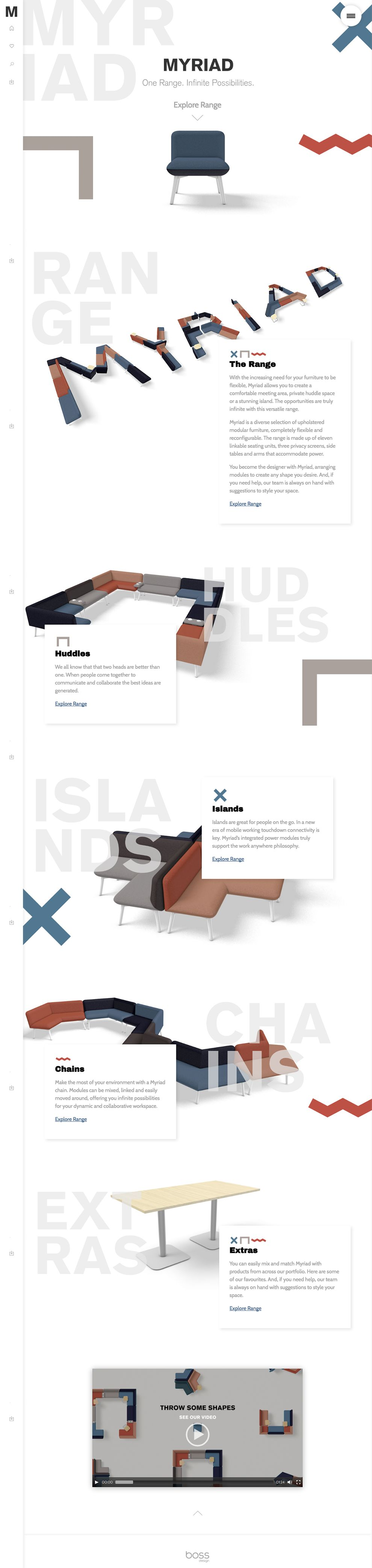 Myriad Clean Homepage