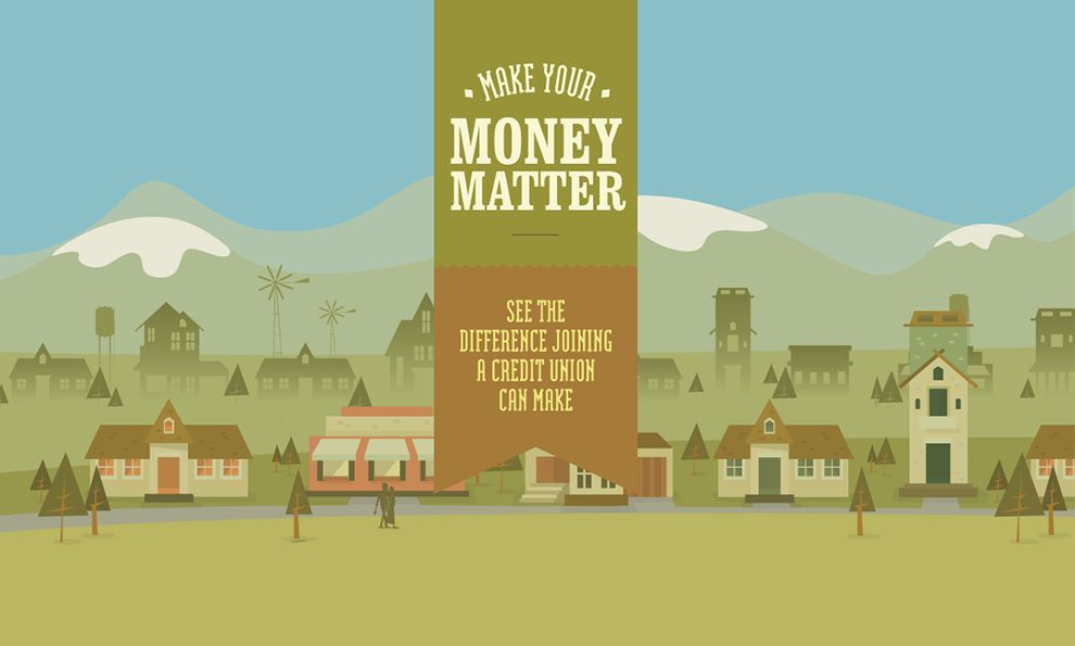Make Your Money Matter Illustrated Homepage