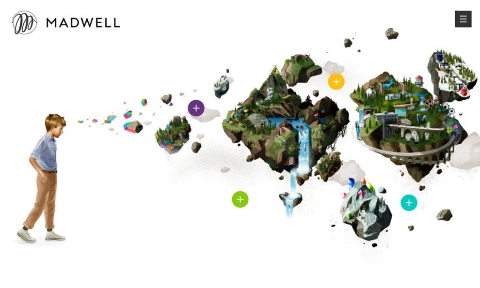 Madwell Beautiful Homepage