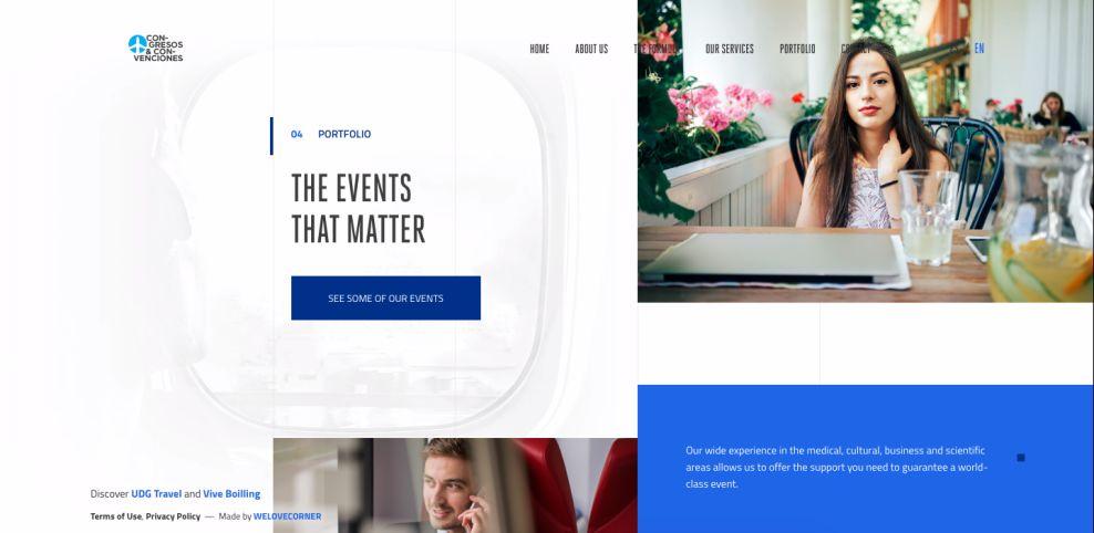 OTU Travel Beautiful Website Design