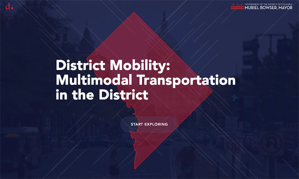 District Mobility Clean Homepage