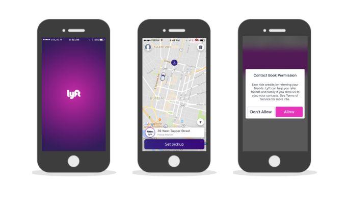 Lyft Cool App Design