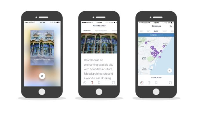 Guides by Lonely Planet Great App Design