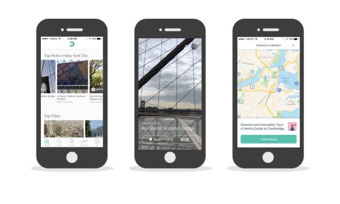 Detour Clean App Design