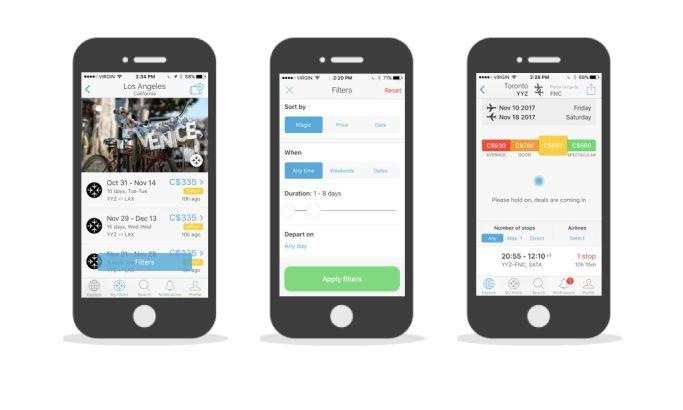 Hitlist Top App Design