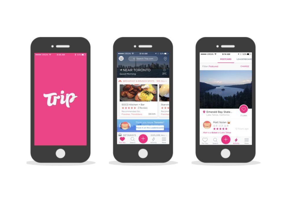 Trip.com Awesome App Design