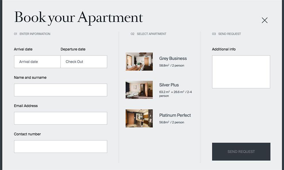 Golden Center Elegant Website Design