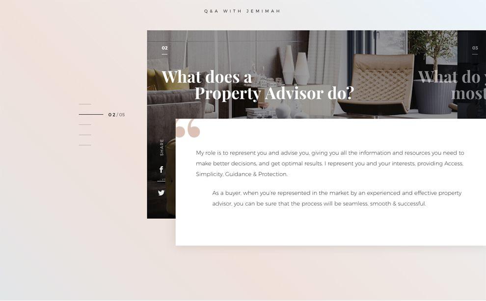 Jemimah Barnett Elegant Website Design