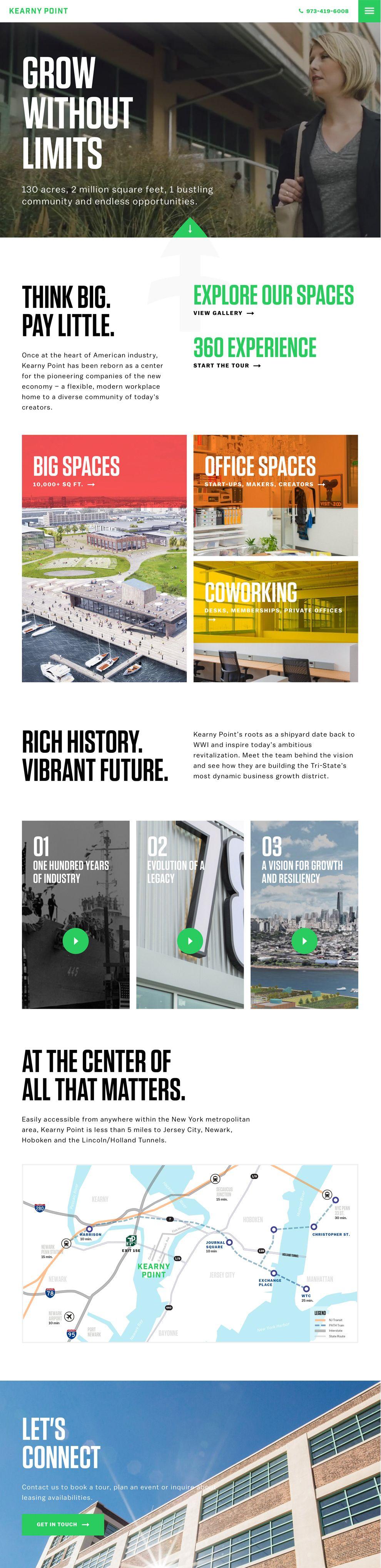 Kearny Point Corporate Homepage