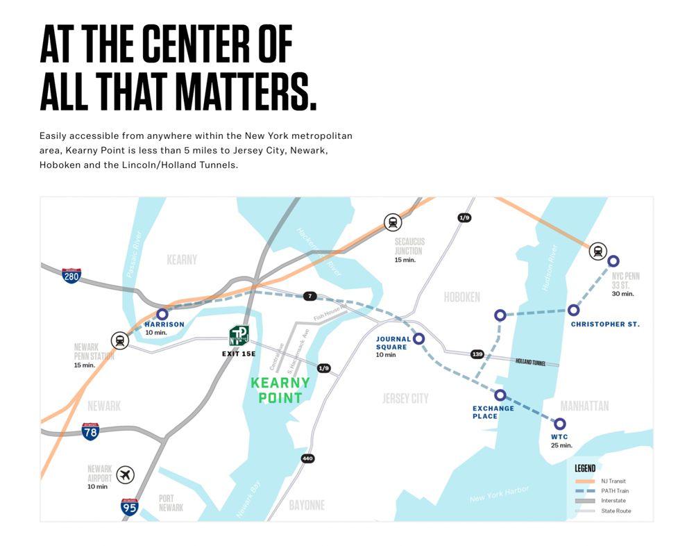Kearny Point Corporate Website Design