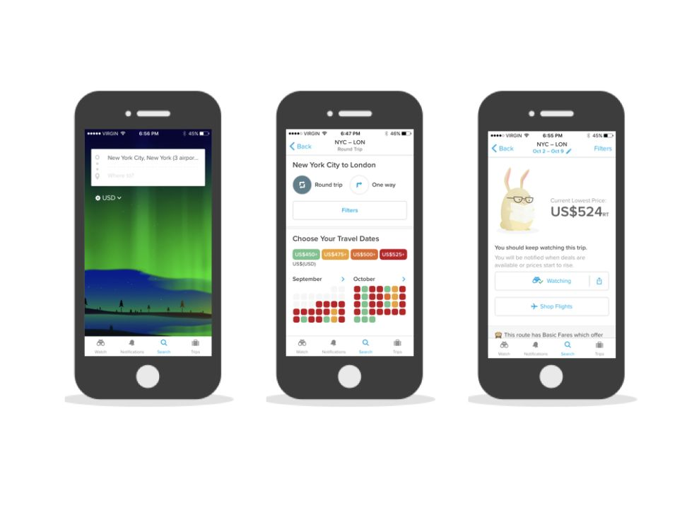 Hopper User-Friendly App Design
