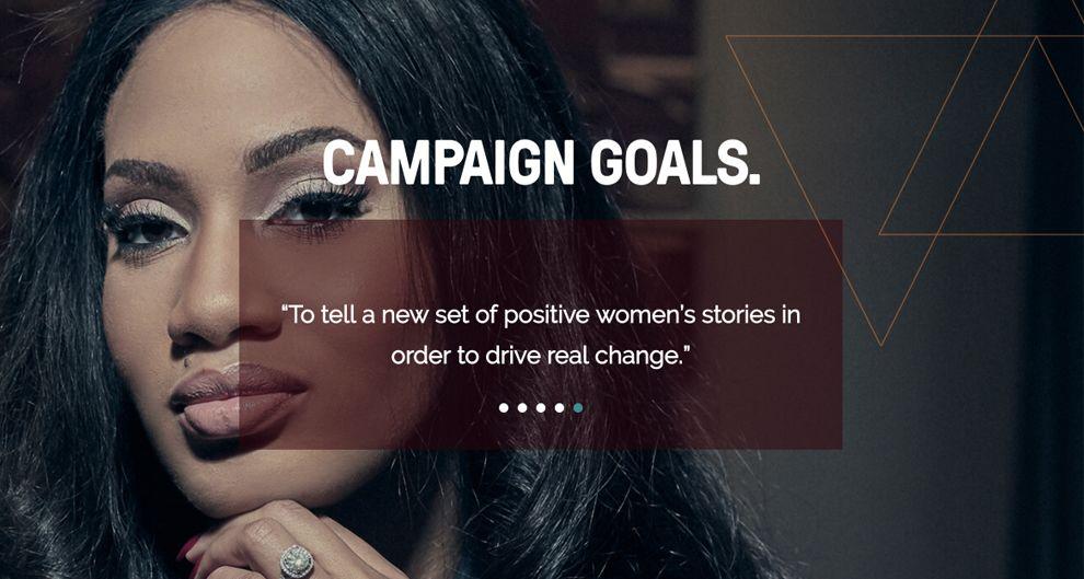 The Female Lead Clean Website Design