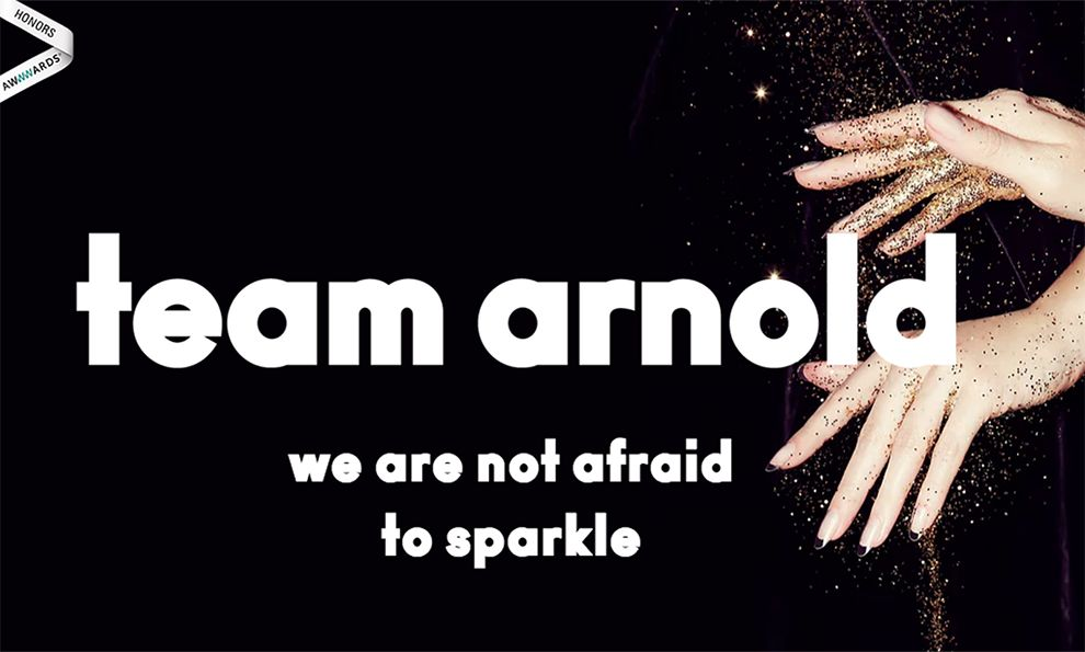 Team Arnold Awesome Homepage