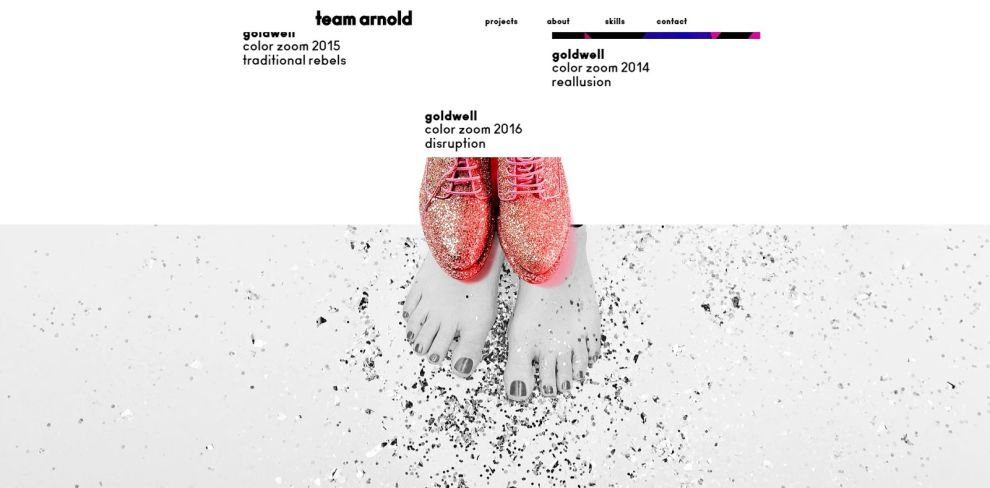Team Arnold Awesome Website Design