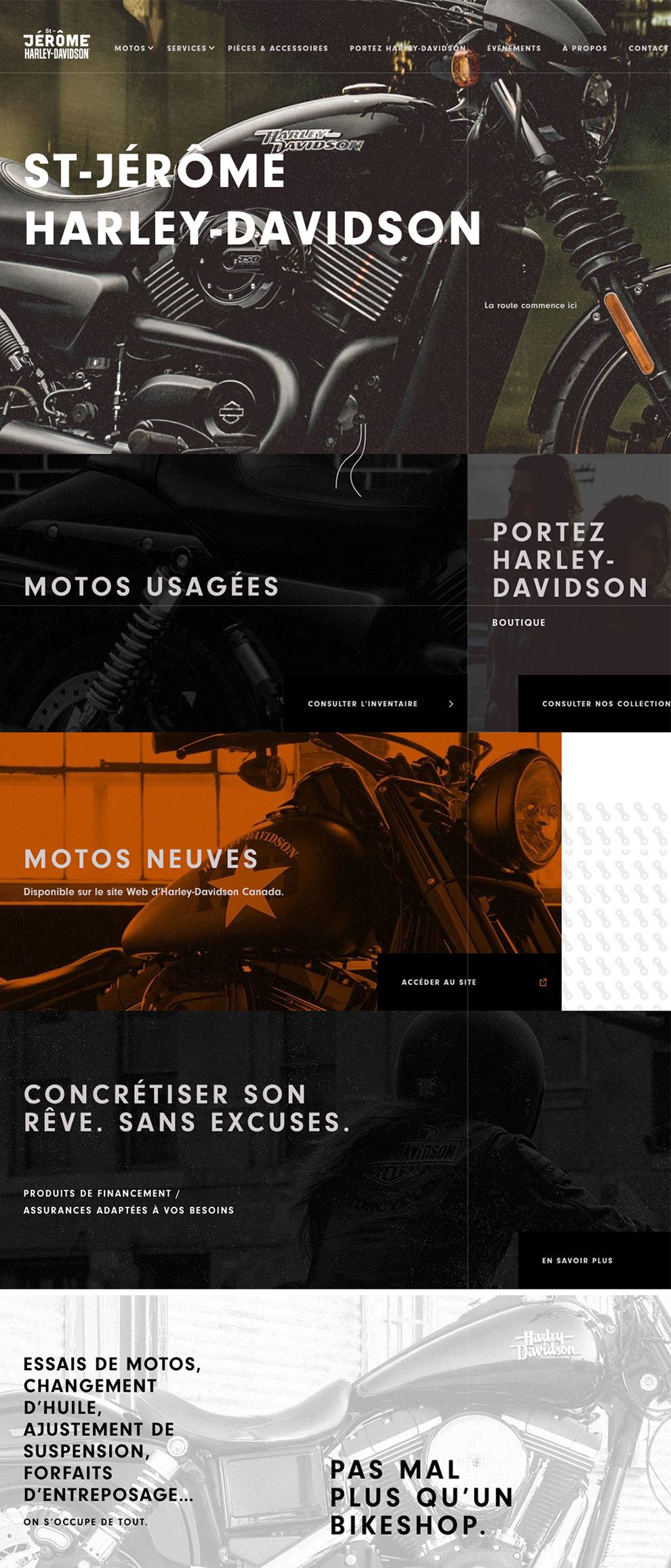 St. Jerome Harley Davidson Gorgeous Homepage